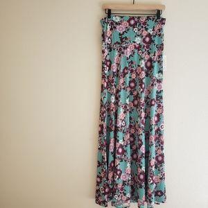Size S LuLaRoe Floral Maxi Skirt
